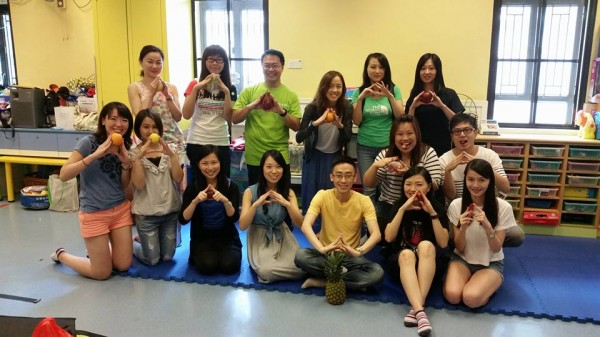 Group Photo with HKUSTAA volunteers